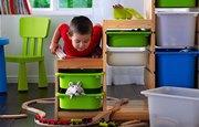 хранения игрушек в детской комнате