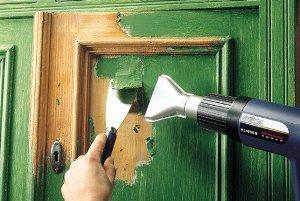 как очистить двери