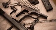 чистку огнестрельного оружия