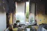 в квартире после пожара