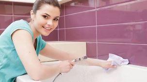 как мыть ванну из акрила