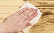 >обработать древесину при появлении плесени