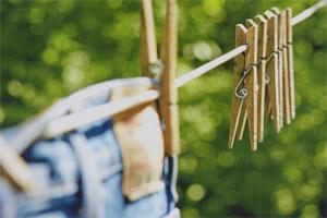как высушить джинс