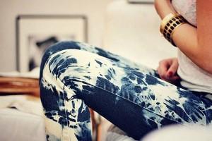 осветление джинс