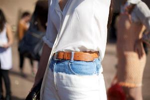 как отбелить джинсы дома