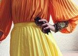 гладить гофрированную юбку