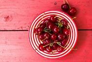 вывести пятно от вишни