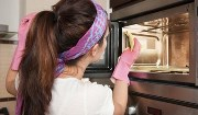 способы очистки микроволновки изнутри