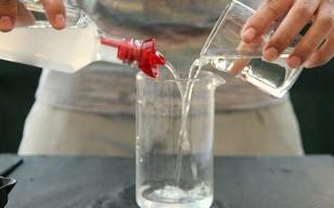 уксус с водой