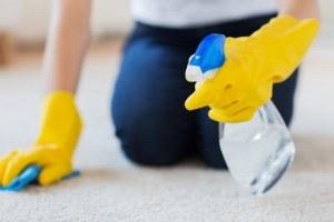 как мыть ковролин