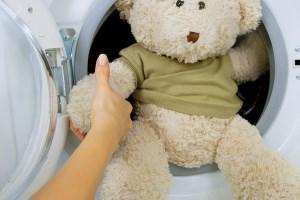 как стирать игрушку в машинке