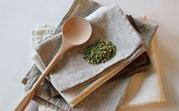 отстирать застарелые пятна на кухонных полотенцах