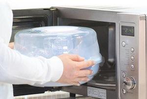 стерилизация в микроволновой печи