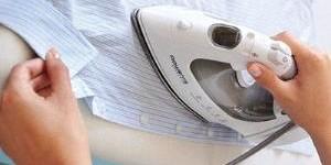 Как убрать блеск от утюга на одежде из разных тканей