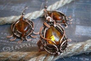 украшения из янтаря