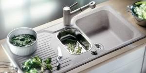 Как чистить керамогранитные мойки для кухни?