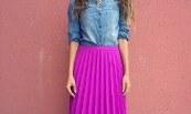 правила глажки юбки со складками