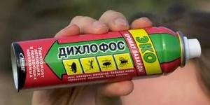 Как применять дихлофос от тараканов и клопов?