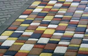 цемент на плитке