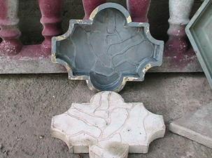 чистка форм от цемента