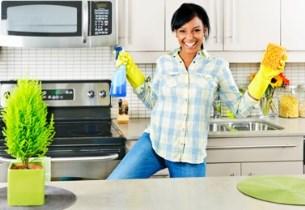 наведение чистоты на кухне