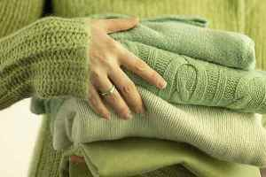 как стирать шерсть