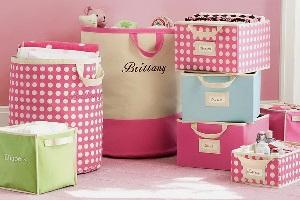 коробки из текстиля