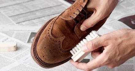 как чистить туфли
