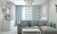 Профессиональный дизайн спальни-гостиной