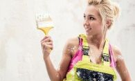 Как быстро снять масляную краску со стен: полезные советы