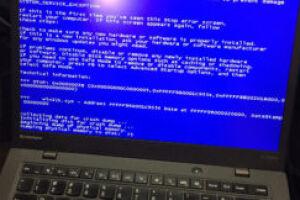Как исправить зависший ноутбук, «синий экран смерти» и другие распространенные проблемы