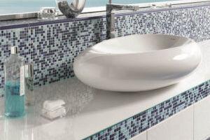 Керамическая мозаика – украшение для ванной комнаты