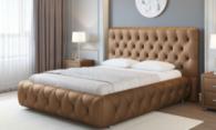 Кровать с подъемным механизмом и ортопедическим основанием для здорового сна