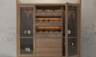 Современные винные шкафы