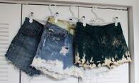 Как отбелить джинсовые шорты: новая жизнь надоевшим вещам
