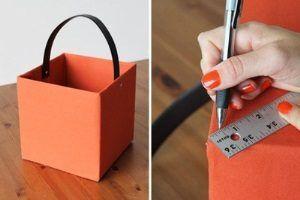 Как декорировать коробки для хранения своими руками?
