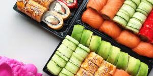 Доставка суши на дом от знаменитого онлайн-ресторана Суши Мастер в Барнауле