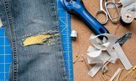 Как пришить заплатку на джинсы своими руками: лучшие техники и советы