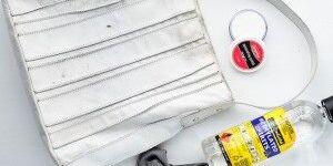 Как почистить сумку из светлого кожзама, чтобы вернуть ей первозданный вид?