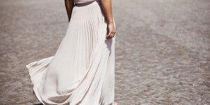 Как гладить гофрированную юбку и платье, сохраняем складочки