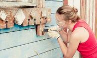Как снять старую краску с дерева – пола, оконных рам, дверей