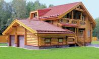 Преимущества домов из сруба