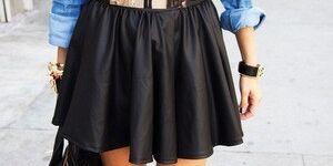 Как погладить кожаную юбку – рекомендации по грамотной утюжке