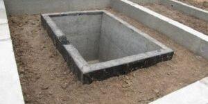 Строительство ленточного фундамента с погребом от профессионалов