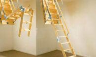 Чердачная лестница – практичность и надежность