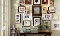 Как оформить стену фотографиями – идеи и мастер-класс