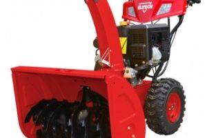 Преимущественные особенности современных бензиновых снегоуборочных машин