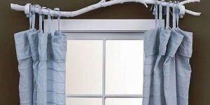 Как правильно повесить шторы в квартире