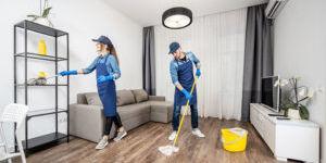 Клининг в апартаментах: экономно и практично