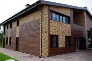 Практичность применения современного планкена из лиственницы для отделки фасада